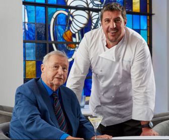 Sir Terence Conran with Clude Bosi GourmetXperiences