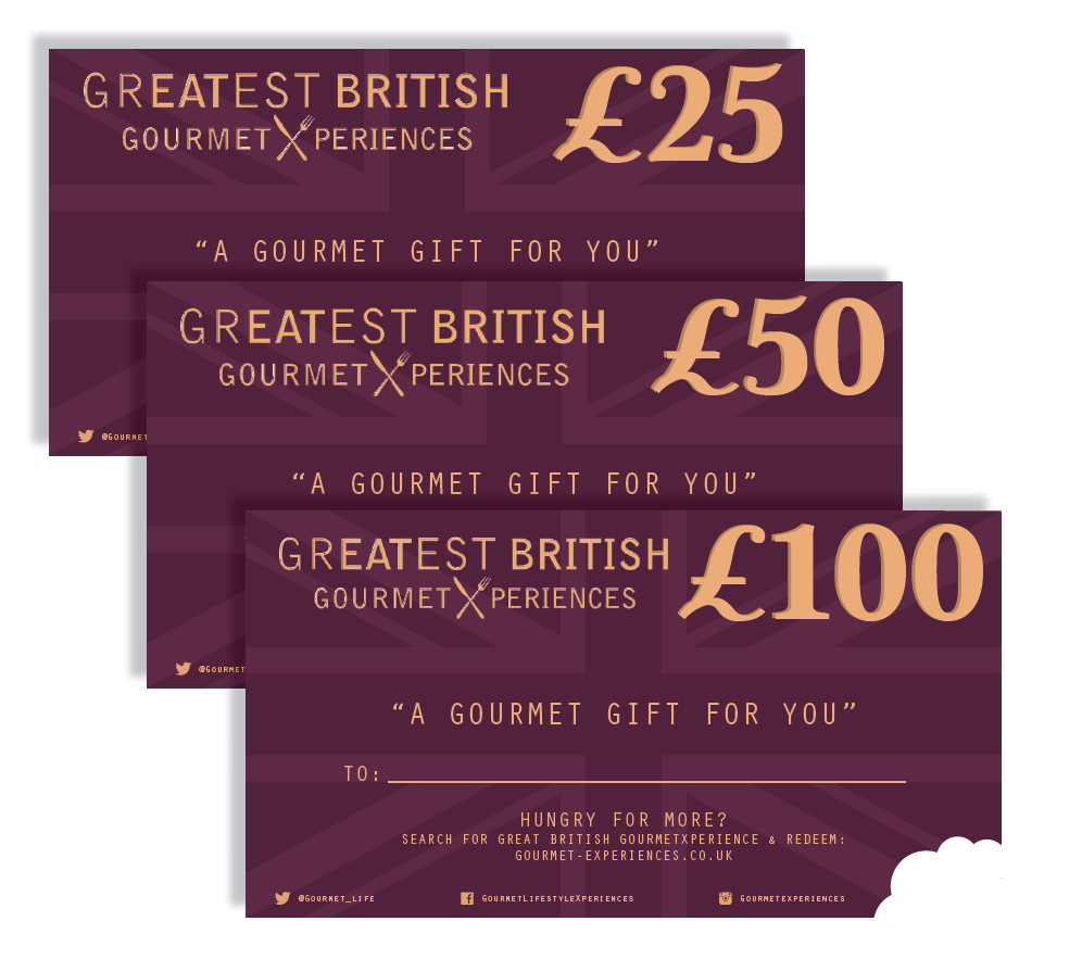 Gourmet Xperience Gift vouchers