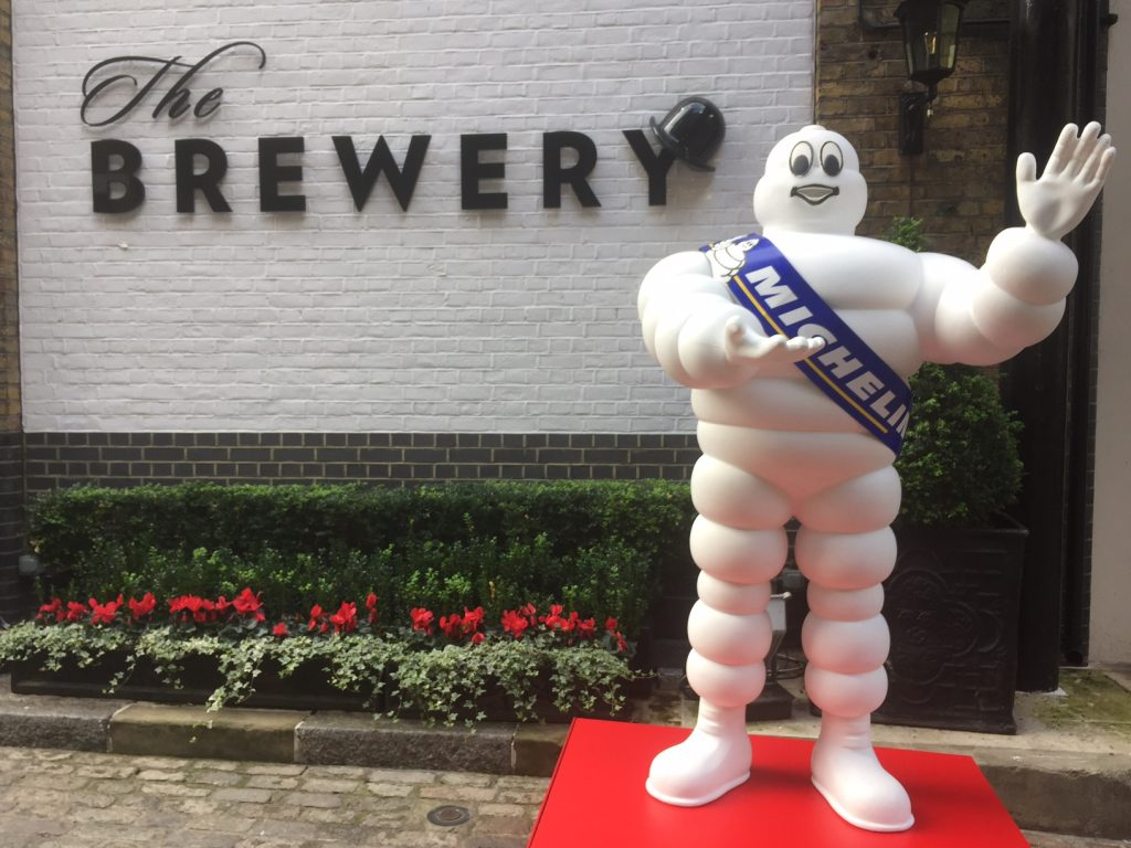 The Brewery ,Barbican, London Michelin launch 2018