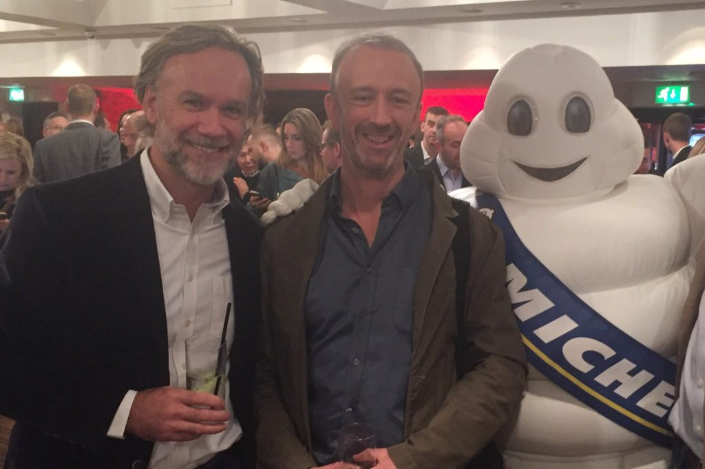 James Day & Marcus Wareing catch up with Bibendum