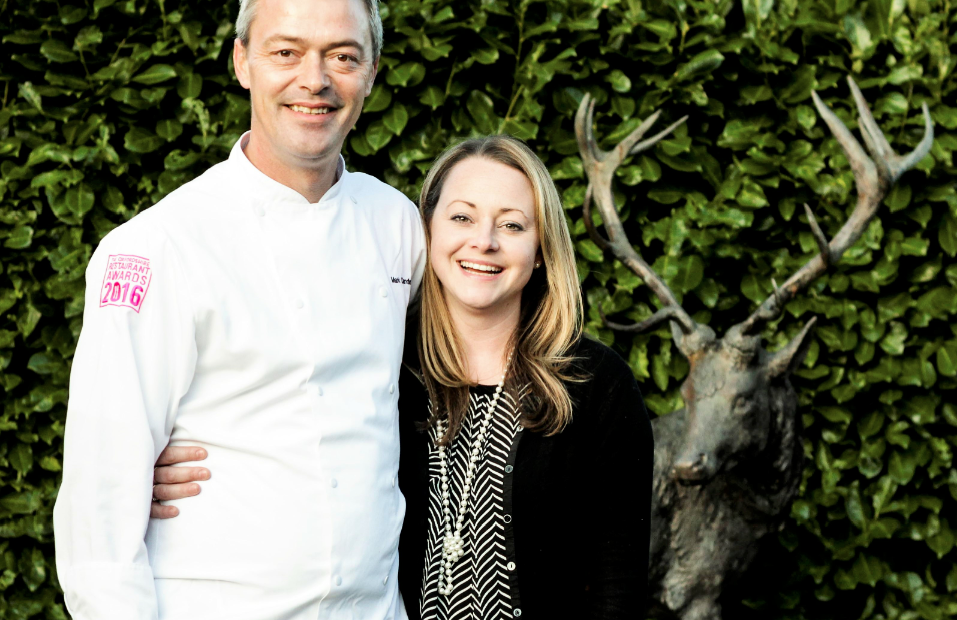 Kay and Mark White Hart Oxfordshire GourmetXperiences