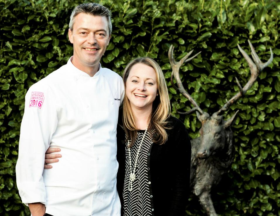 Kay and Mark White Hart Oxfordshire GourmetXperiences