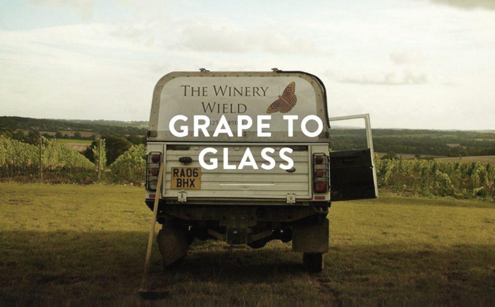 Hattingley Valley English Wine Production Land Rover