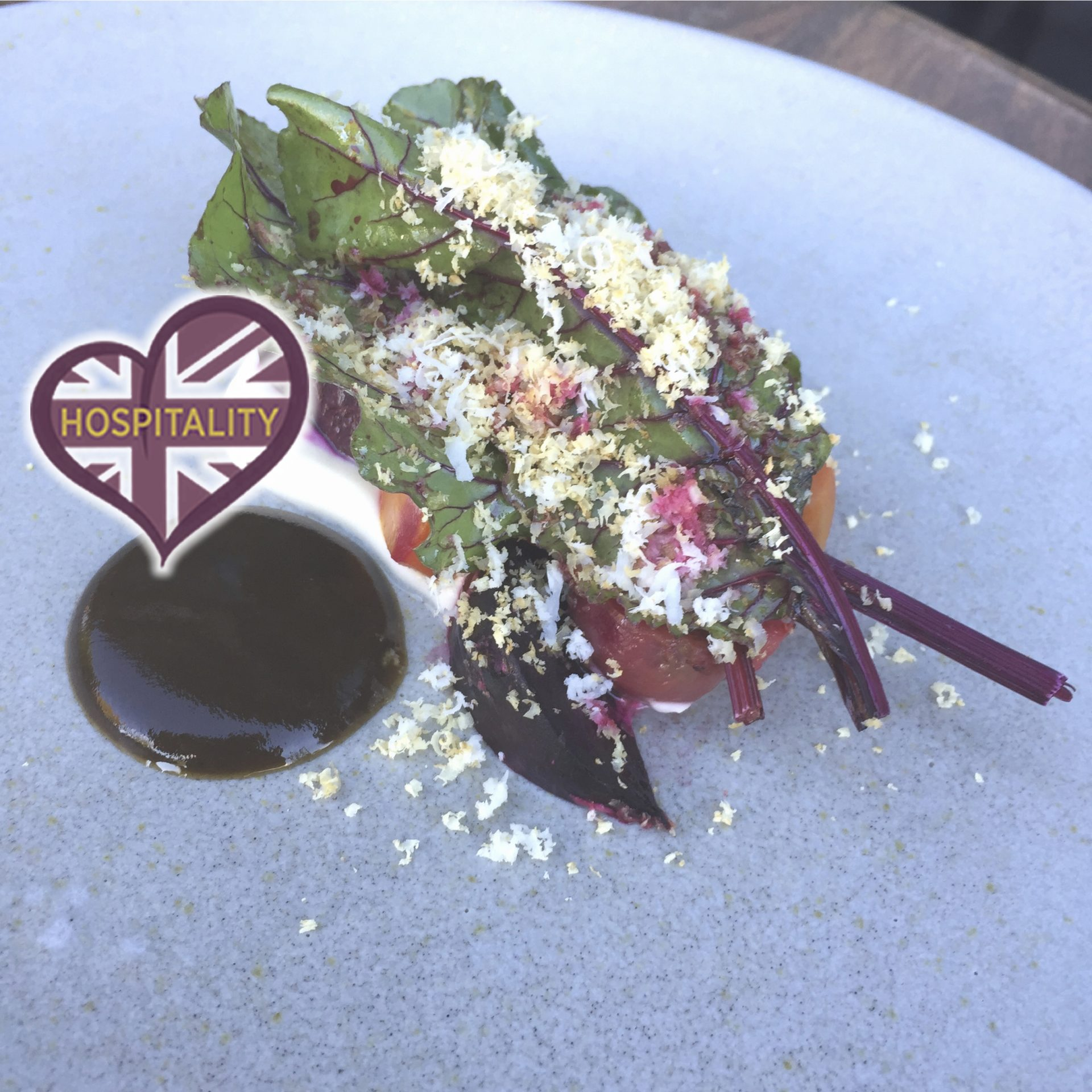 Beetroot & Goats Cheese by Chef Brad Carter