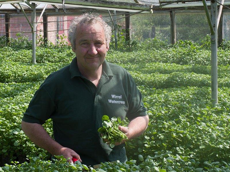 Peter Jones of Wirral Watercress